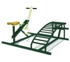 健骑仰卧组合 福建公园健身路径 户外健身器材