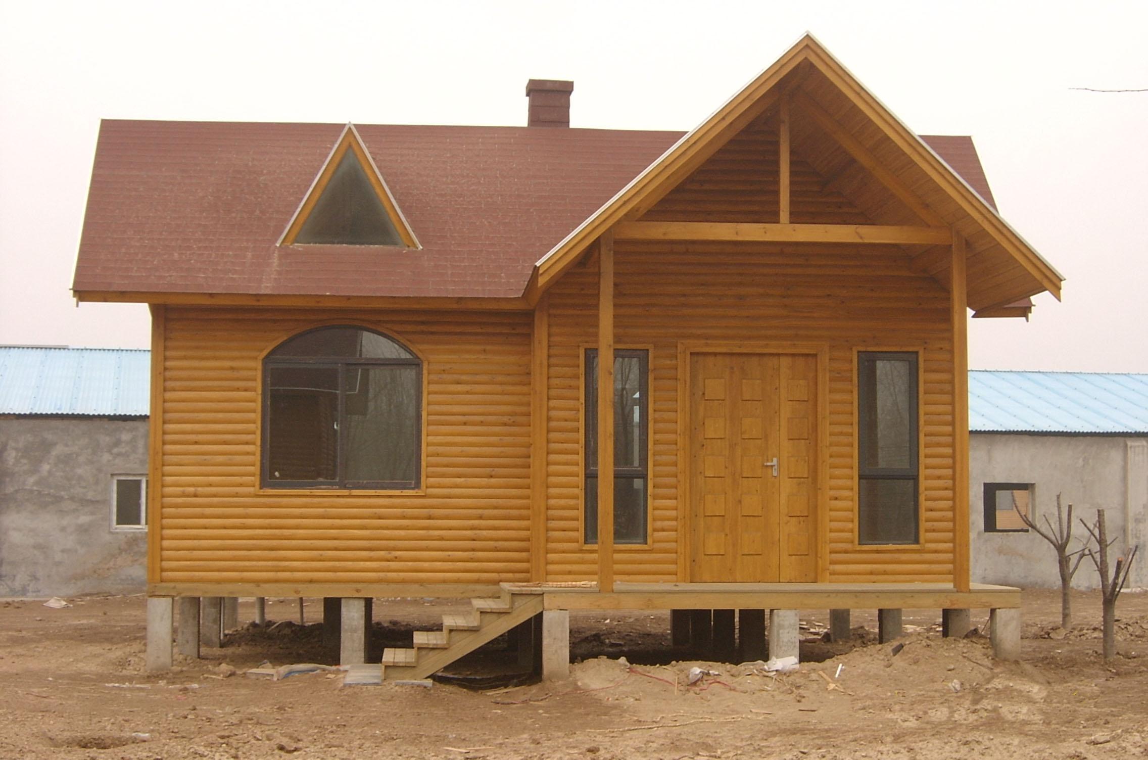 【厂家直销】福州质量硬的防腐木木屋——售卖木屋