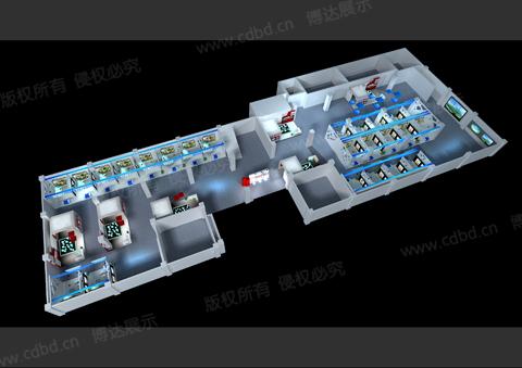 成都房交会主场设计搭建 成都博达展览