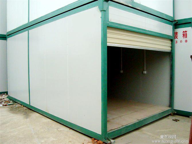 集装箱带卷帘门 福州柜族集装箱 集装箱活动房每天6起