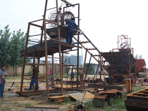 金航矿砂机械采金设备售后:青州选金设备