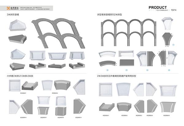高速拱形骨架模具廠家