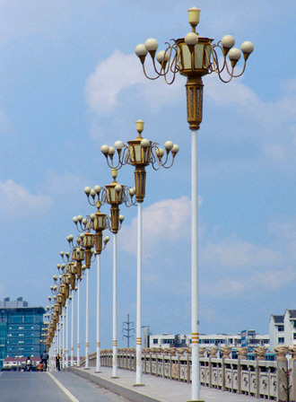 兰州太阳能路灯厂家-朗坤照明为您照亮回家的路