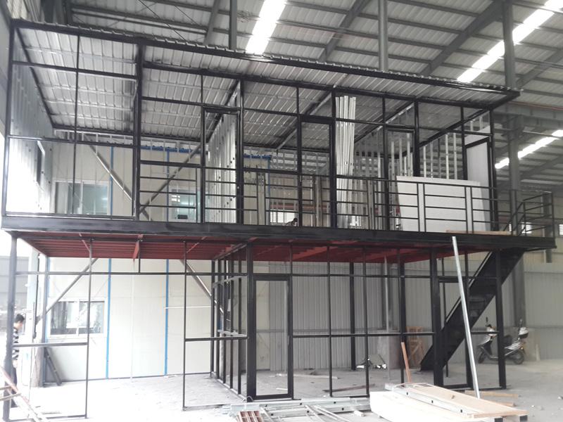 钢结构办公楼设计 钢结构办公楼施工