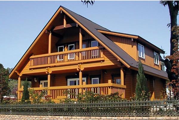 北欧木结构建筑