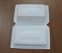 抢手的对折餐盒,健新塑料制品公司提供,装猪肉的托盘低价批发