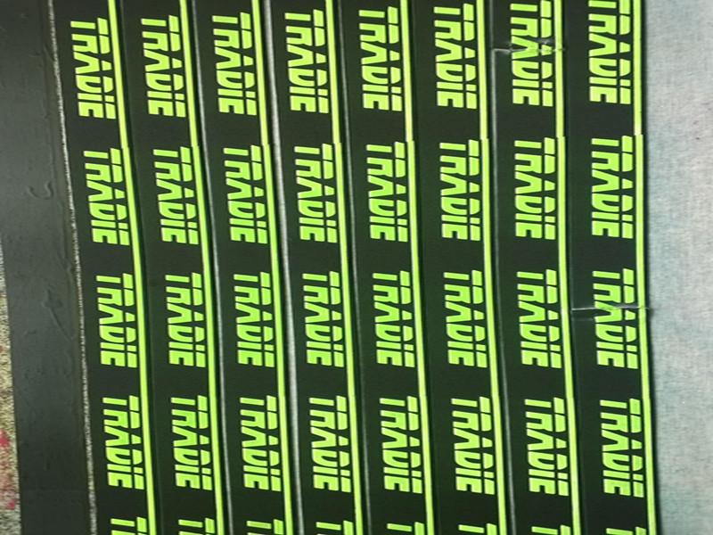 百捷印花有限公司物超所值的夜光硅胶印刷介绍 -洗涤标厂家批发