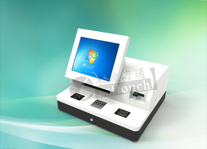 桌面式自助终端 触控一体机