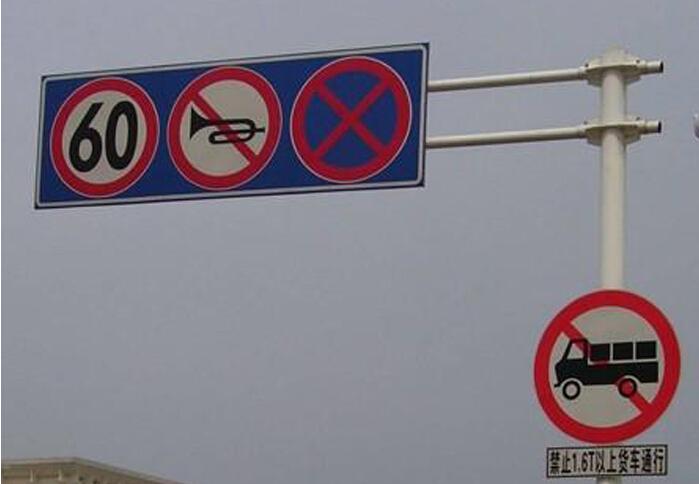 贵阳交通标志杆批发-同享钢结构制品公司提供有品质的广西标志杆
