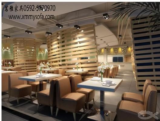 餐厅卡座沙发