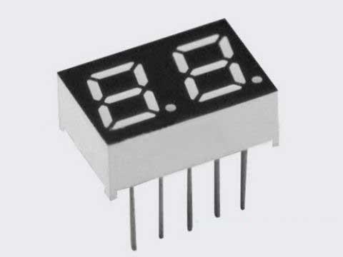 0.28英寸(2821A-B-1) 福建LDE数码管
