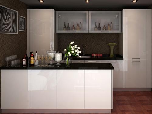 百隆整体厨房——白蜡木橱柜-258.com企业服务平台