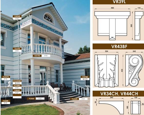 欧式建筑装饰托花图片