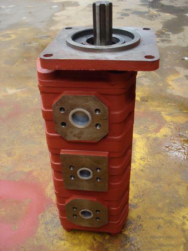 振中液压机械——质量好的三联齿轮油泵提供商-便宜的三联齿轮油泵