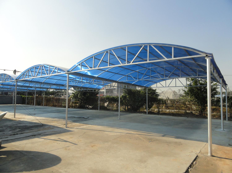 大型太阳棚 产品品牌: 经营模式:生产型 供应商家:福建精工停车棚公司