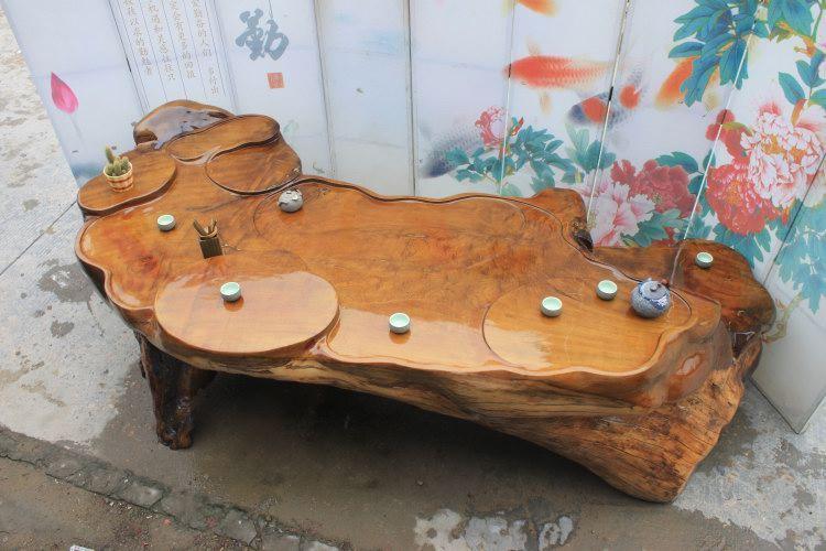 关键词:金丝楠木茶几根雕茶桌