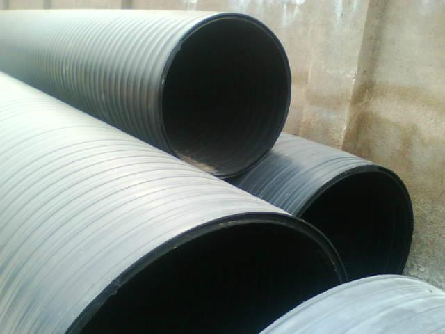HDPE雙平壁鋼塑復合纏繞管