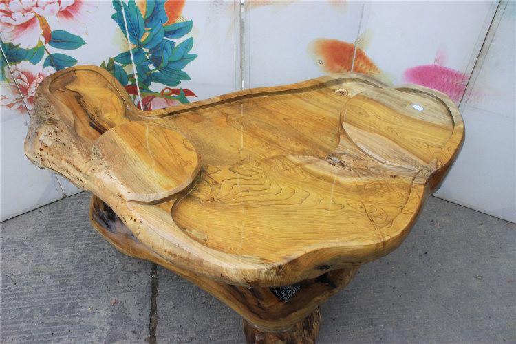 框广金丝楠木根雕茶几茶桌天然树根雕刻茶海茶台高档