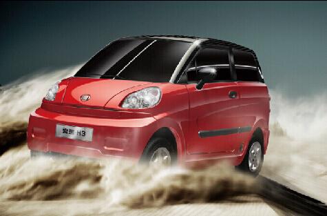 新能源汽车专卖店 最好的宏瑞H3电动汽车就在宏瑞世英