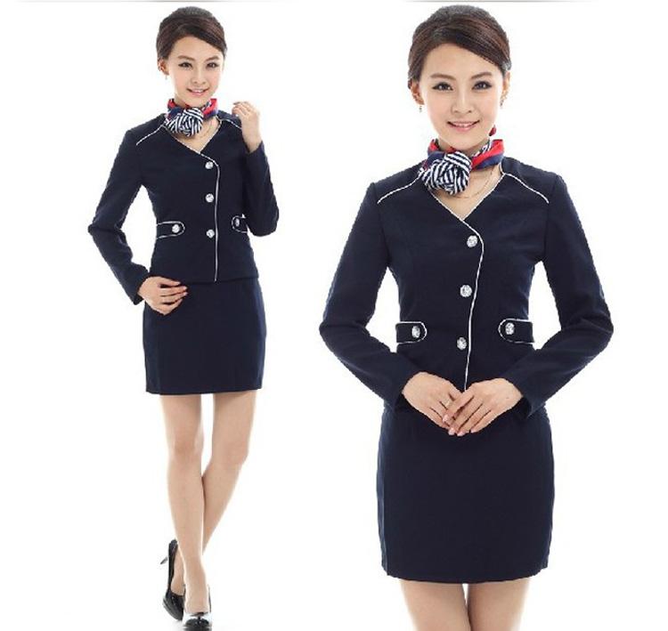 夏季工作服 职业装女套装 女式小西服