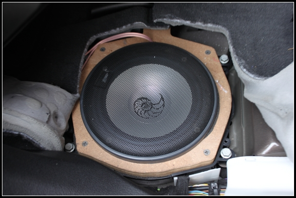 成都宝马x5音响改装方案