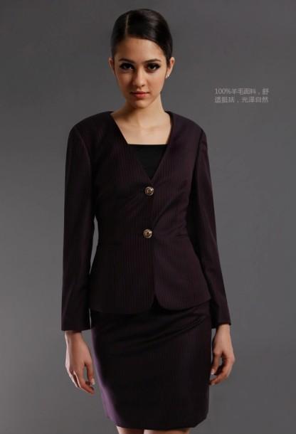 特色女式西服推荐,崇州商务西服女套装