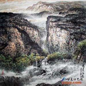 潍坊信誉好的陈春勇山水画|具有价值的陈春勇山水画