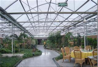 温室大棚建造_连栋生态餐厅