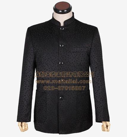成都中山服定做|中山装专卖|唐装批发中式服装西装|成都美泰来