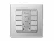 成都朗华智能家居专业提供智能照明面板 代理智能照明面板
