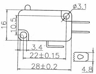 買微動開關KW7認準聯發電子-信譽好的微動開關價格