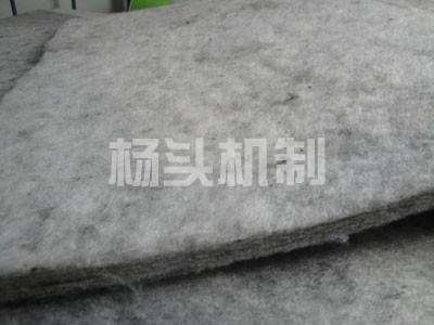 要買優質的灰色化纖毛氈,就到偉成毛氈|陜西灰色化纖毛氈