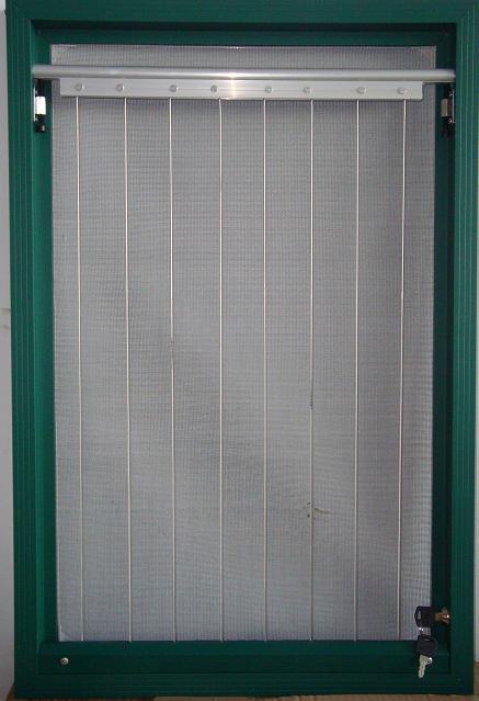 优质的粘贴隐形纱窗推荐 框中框防盗纱窗定制