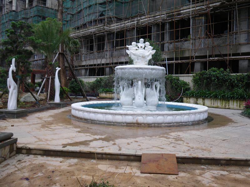 園林雕刻 噴泉石雕 大型組合噴泉石雕