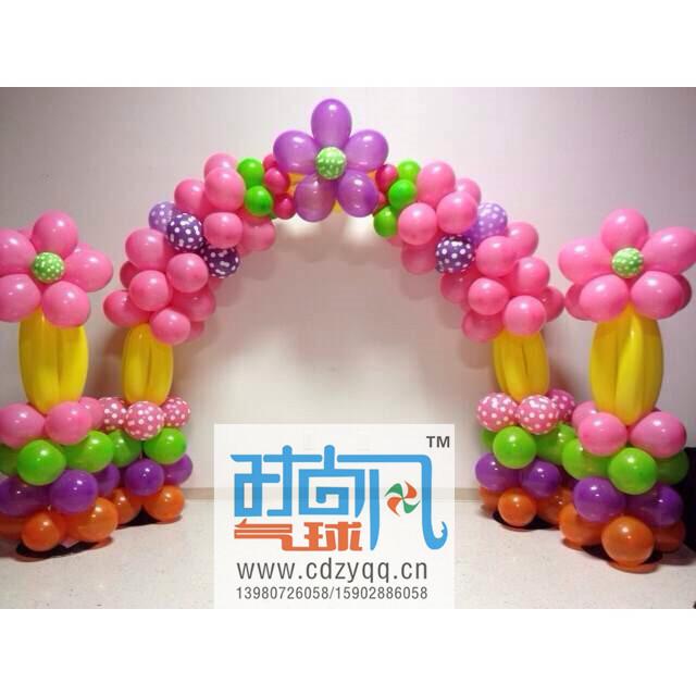精巧的气球时尚风气球优惠供应|气球拱门编织