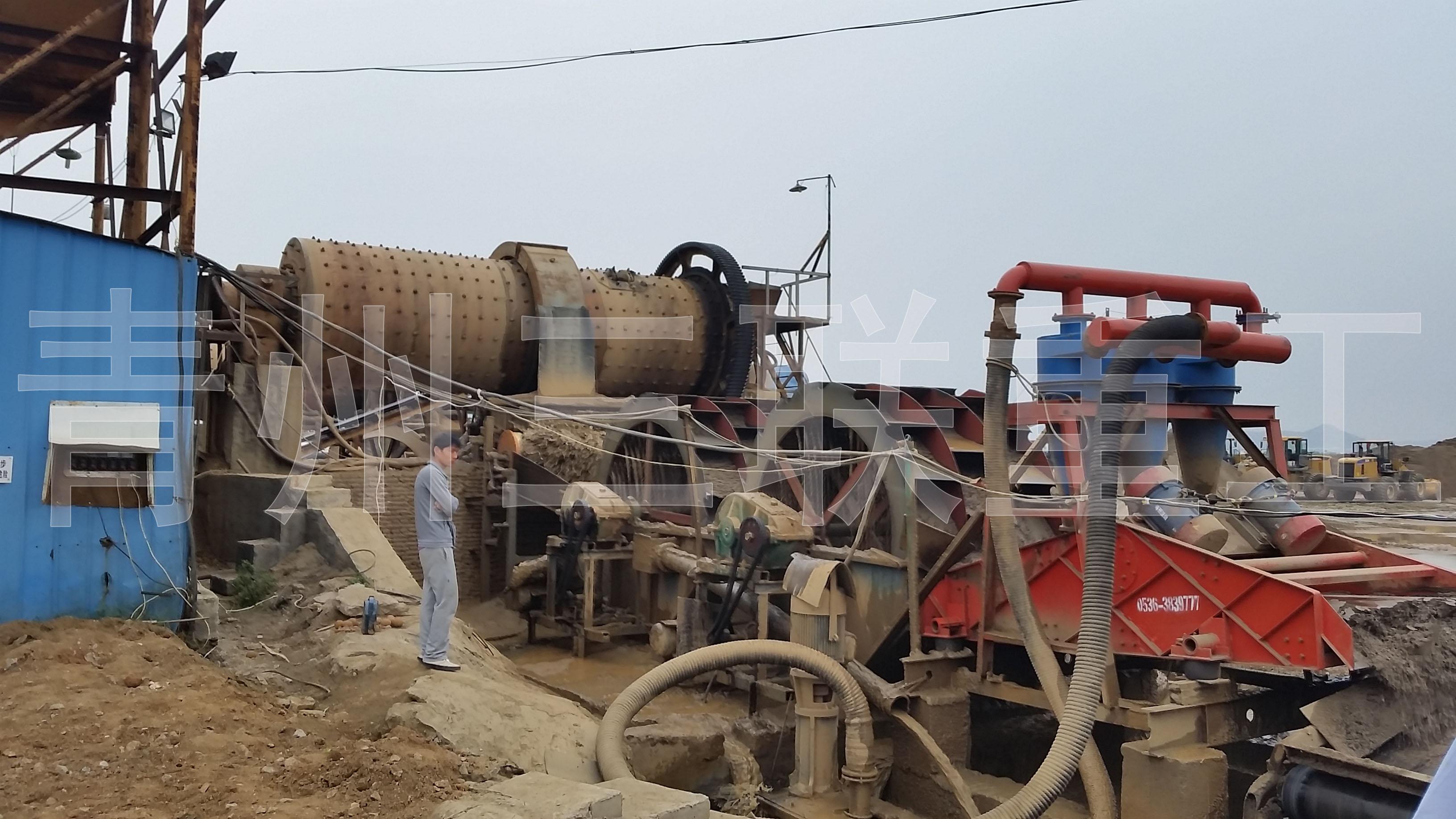 球磨制沙水洗细砂回收设备