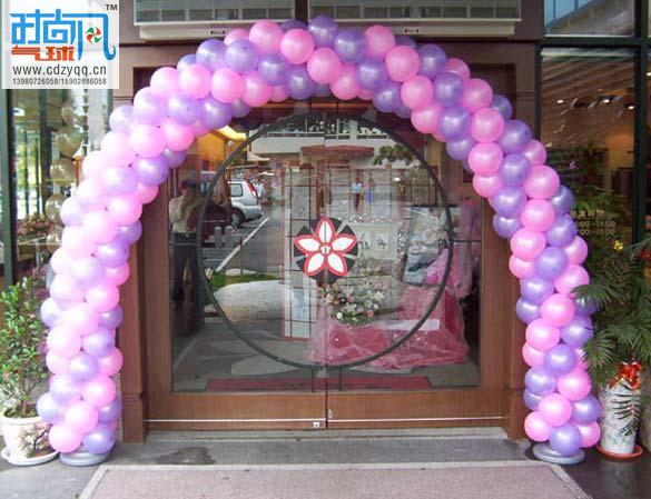 专业的气球装饰 成都地区合格的成都气球