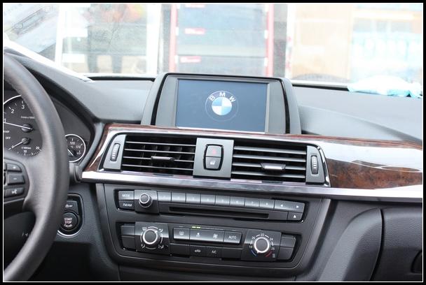 宝马三(3)系原车屏幕升级导航模块