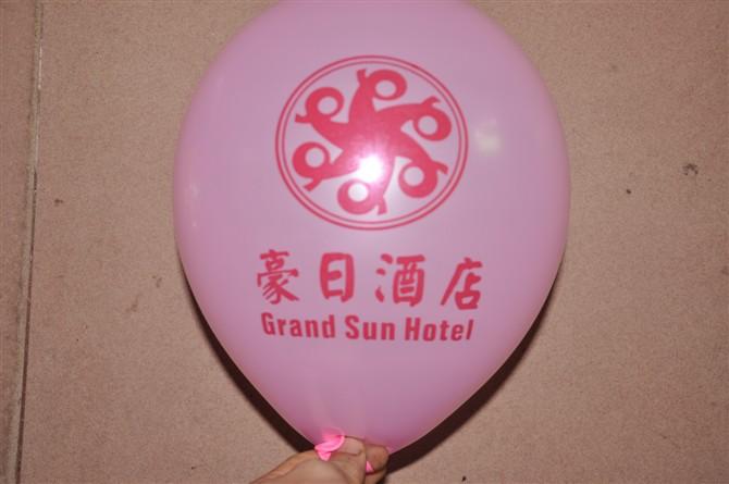 专业的小气球提供商—时尚风气球-小气球印字定做