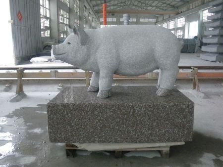 动物雕刻 磨光艺术品 万博manbetx官网猪