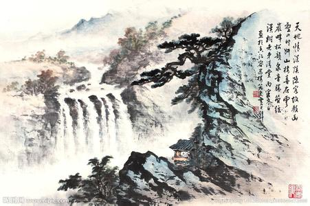 国画山水,北京国画山水批发