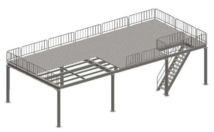 钢结构平台_企业相册-杭州永冠建筑安装工程有限公司