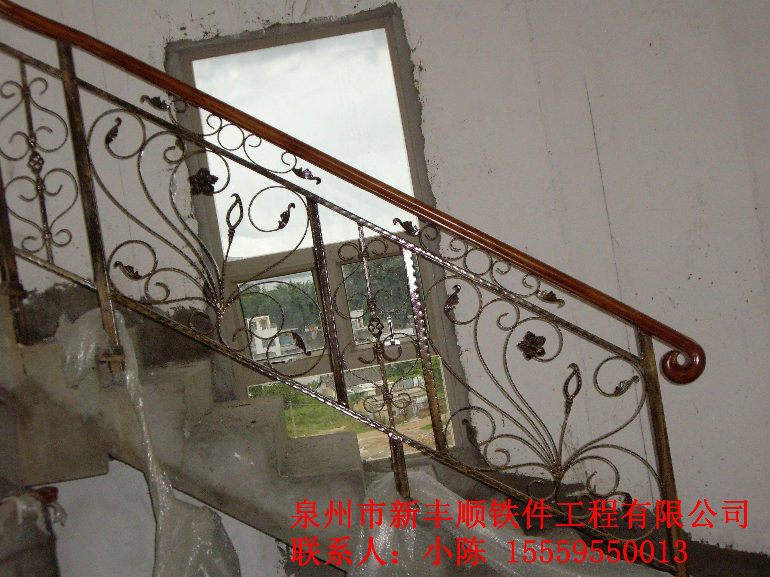 铁艺扶手楼梯-泉州市新丰顺铁件工程有限公司