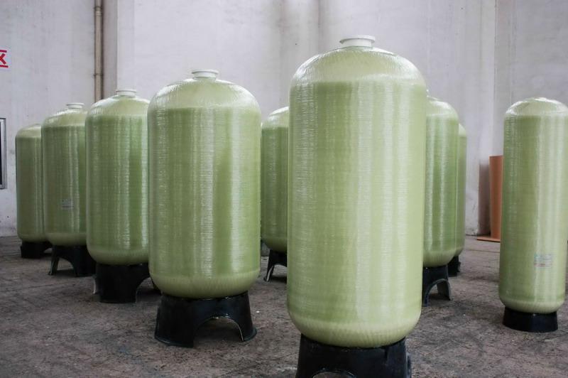 玻璃钢树脂罐软水罐图片