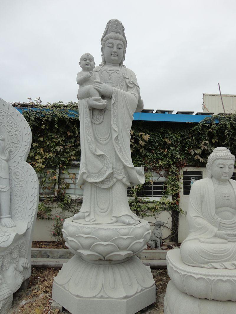 安徽石雕佛像-精美的石雕觀音哪里買