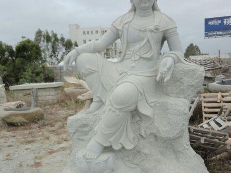 人物雕刻 石雕佛像 观音石雕