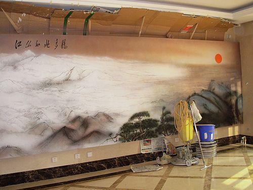 手绘墙多少钱||手绘墙收费标准|手绘墙价格|北京手绘墙公司