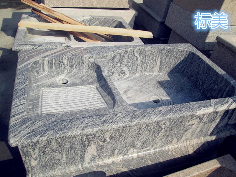 洗衣槽大理石 花岗岩洗衣槽 一体式洗衣槽 价格优惠 欢迎预定