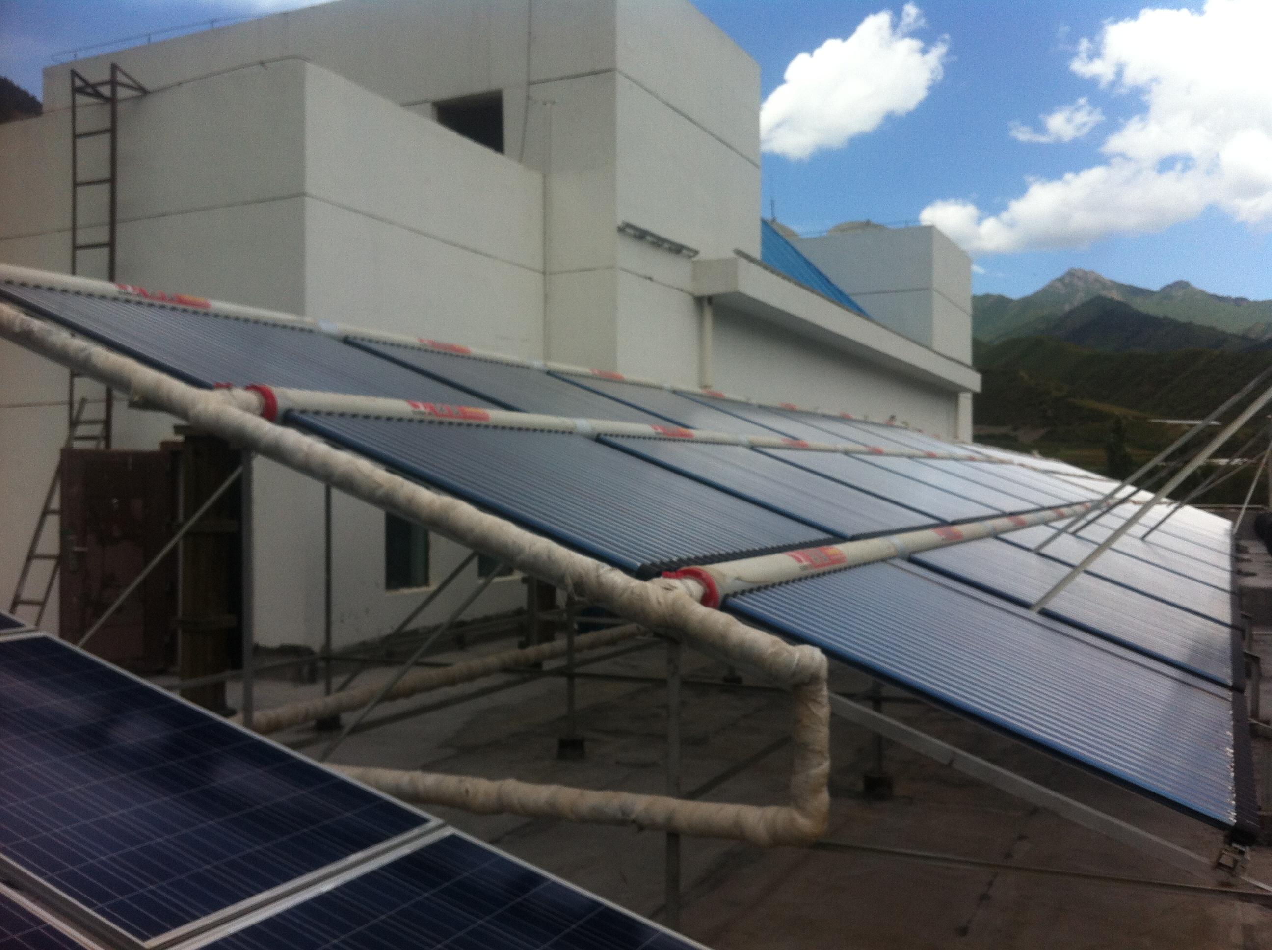 甘肃太阳能热水工程