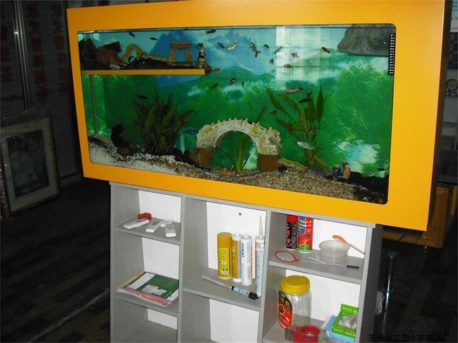 掛式魚缸定做 供應蘇州特色的嵌入式魚缸